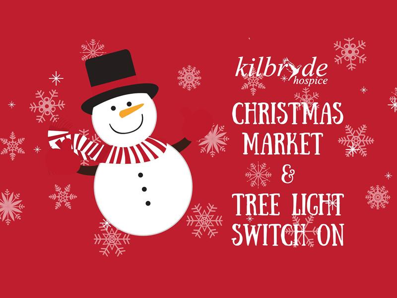 Kilbryde Christmas Market and Tree Light Switch On!