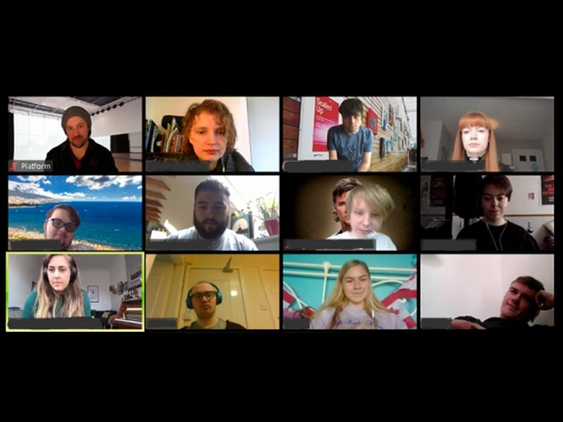 Platform Young Company Online - Performance Workshops