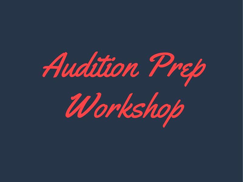 Drama School Audition Prep Workshop