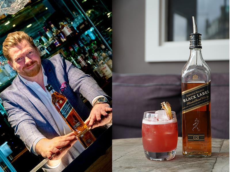 The Huxley in Edinburgh and Johnnie Walker raise a glass to World Whisky Day