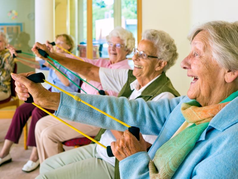 Active Communities: Chair Aerobics