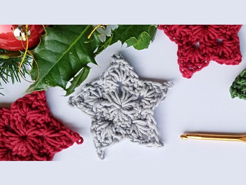 Crochet at Christmas - Festive Stars and Brunch