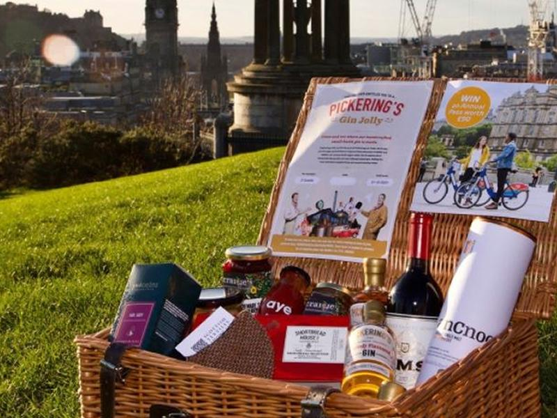 Spread some festive cheer and shop Edinburgh this year