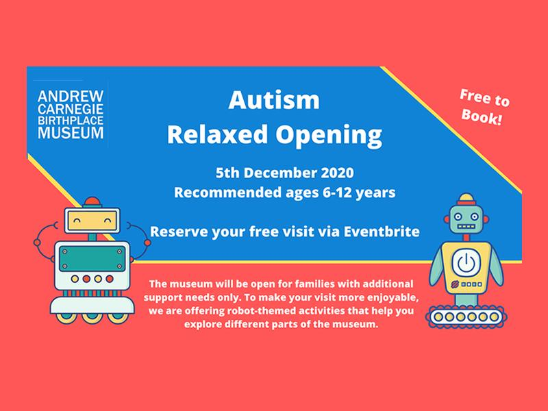 Autism Friendly Visitor Slots