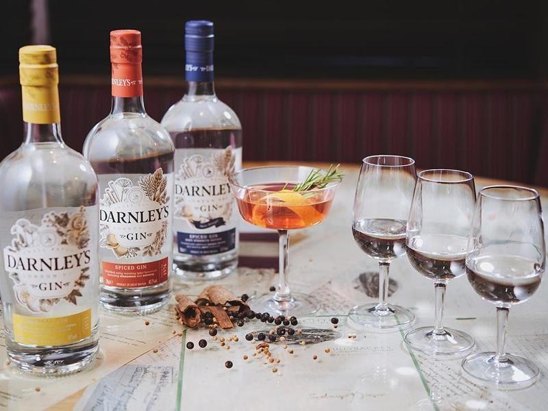 Free In-store Tasting Of Darnley's Gin