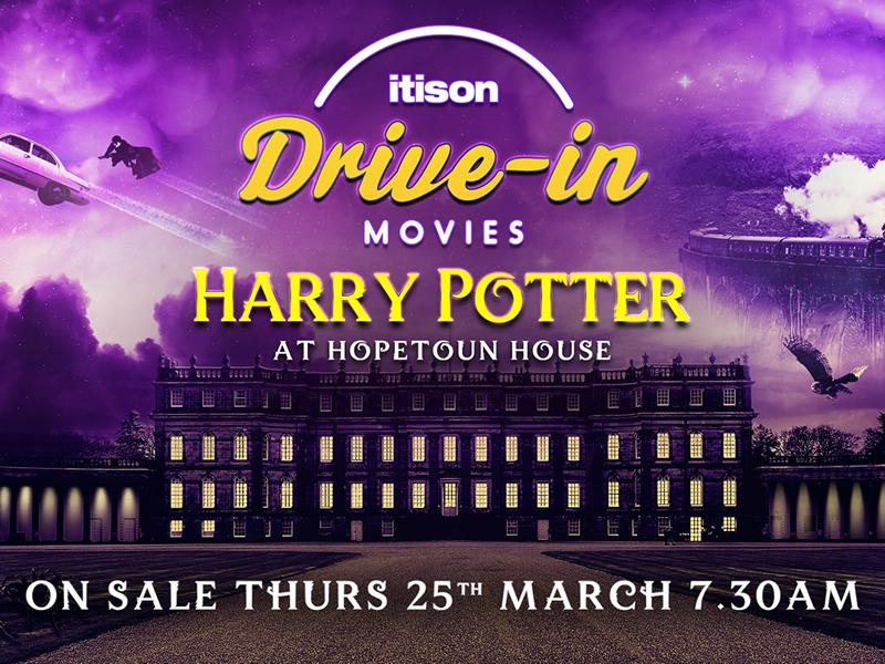 Harry Potter and The Batman Trilogy Drive in Movie tickets on sale tomorrow