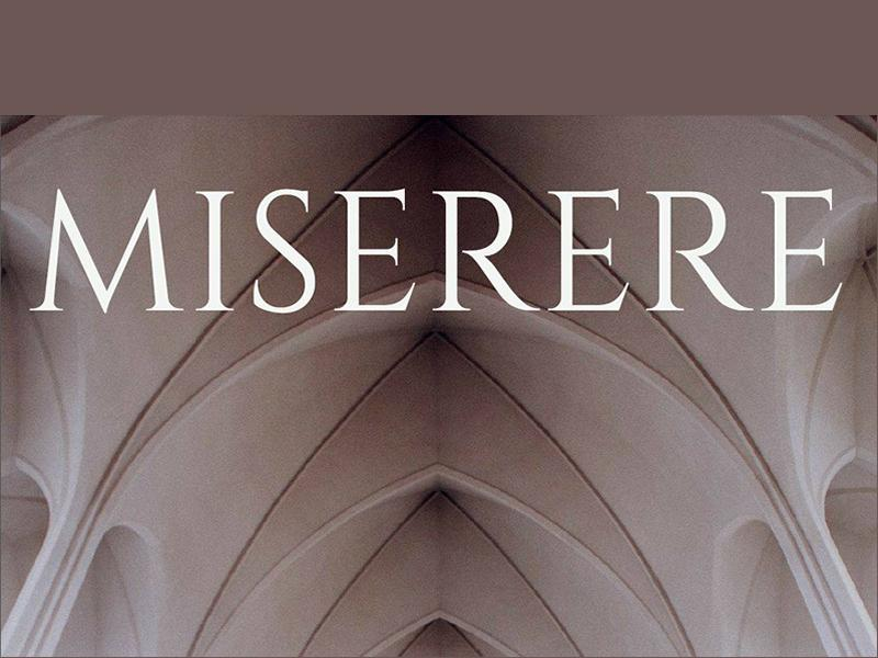 Scottish Vocal Ensemble: Miserere - Music for Lent and Palm Sunday
