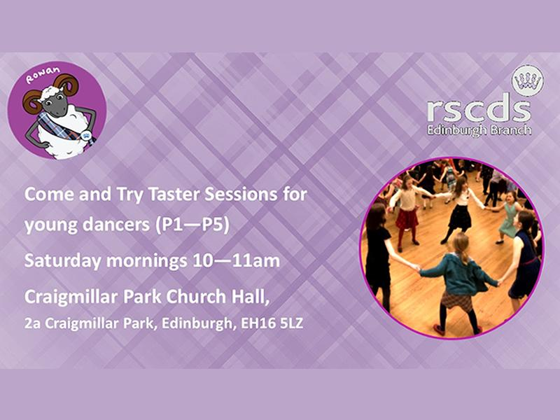 Free Scottish Dance Taster Sessions for Young Dancers