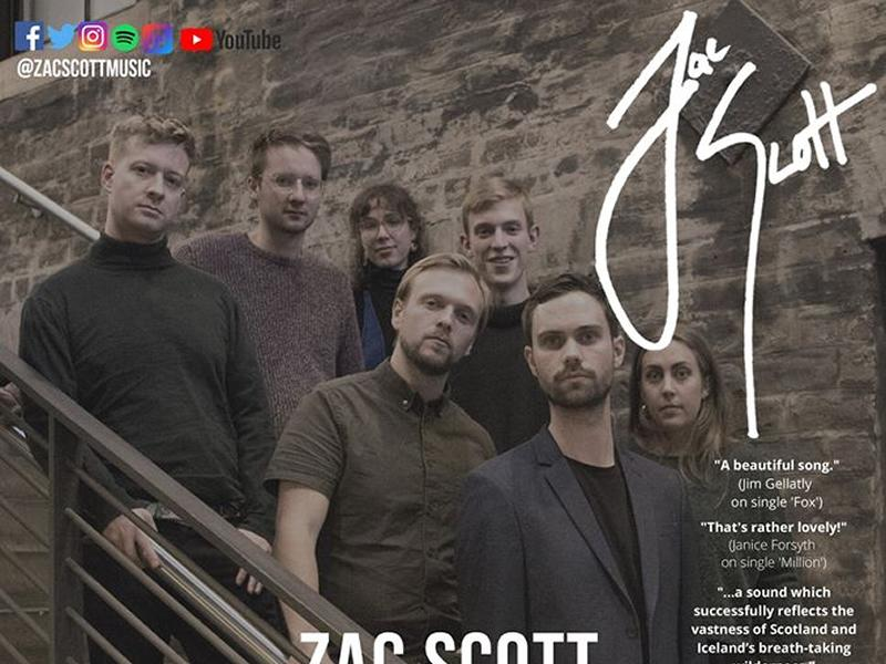 Zac Scott - For The Love Of... - Debut Album Launch - CANCELLED