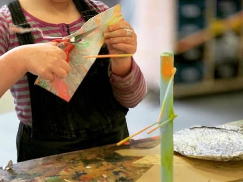 Sculpture Saturday: Paper Clay Play with Ashleen Lewis