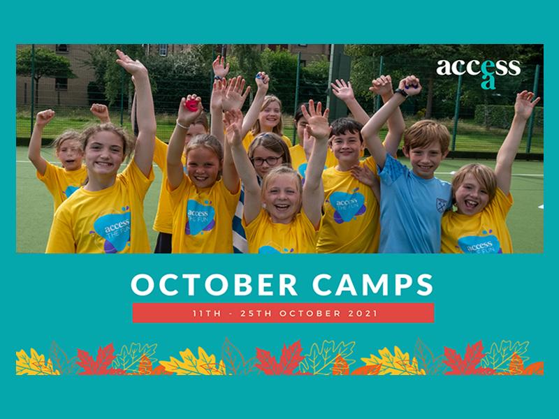 Kids Holiday Camps - October Half Term 2021