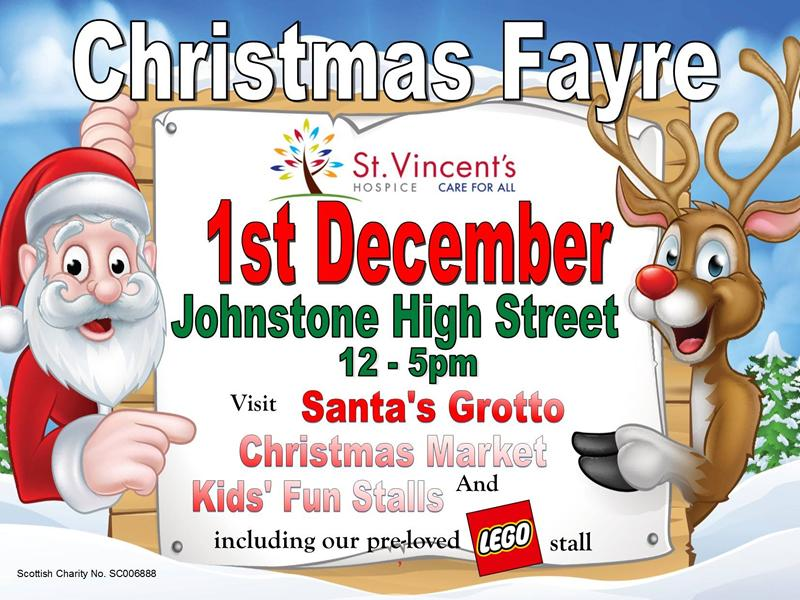 St. Vincent's Hospice Christmas Fayre