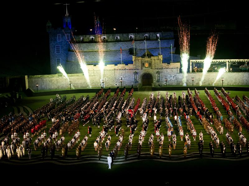 The Royal Edinburgh Military Tattoo marches out of Sydney after biggest ever show