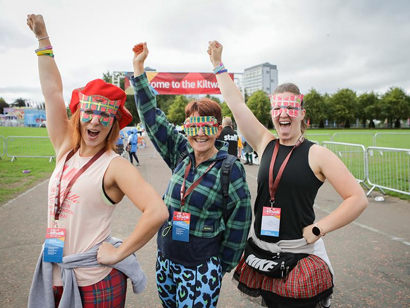 Kiltwalk raises record breaking amount for Scottish charities in 2021