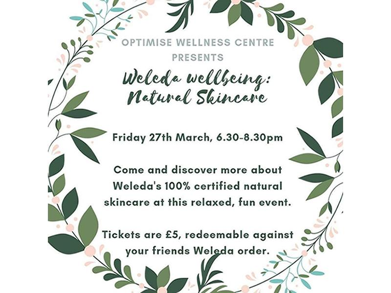 Weleda Wellbeing: Natural Skincare - CANCELLED