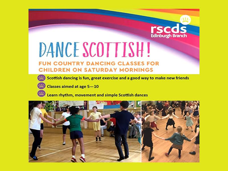 Fun Scottish Dance Classes for Children