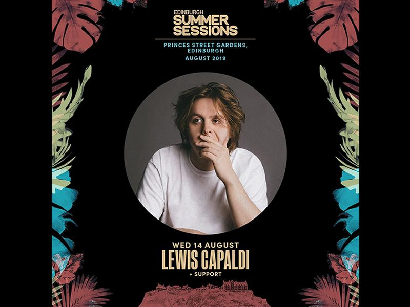 Number 1 Scottish superstar Lewis Capaldi to headline Edinburgh Summer Sessions