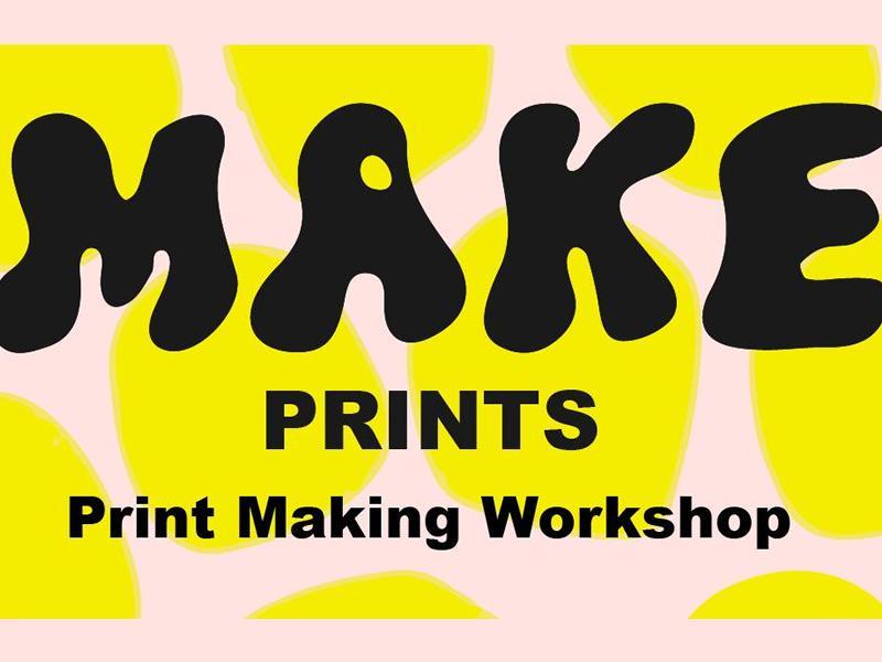 MAKE Printmaking Workshop - Outdoor Workshop