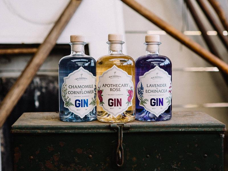 Free in-store tasting of Old Curiosity Gin