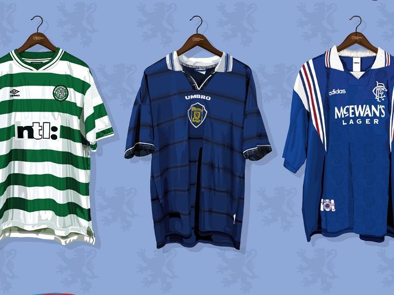 Classic Football Shirts Glasgow Pop-Up Shop