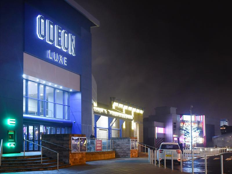 An enchanting Christmas at ODEON Luxe Glasgow Quay