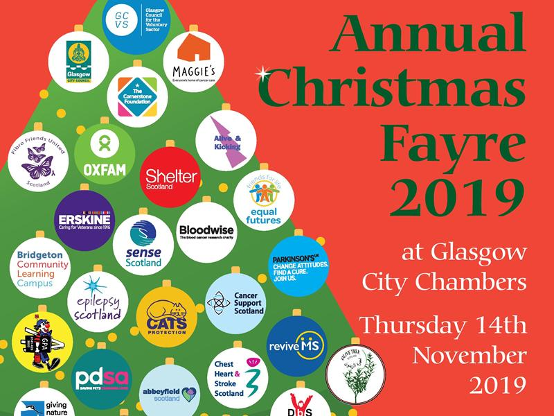 The Glasgow Charities Annual Christmas Fayre
