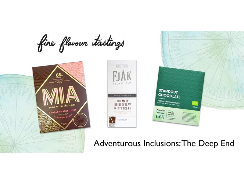 Chocolate Tasting - Adventurous Inclusions: The Deep End
