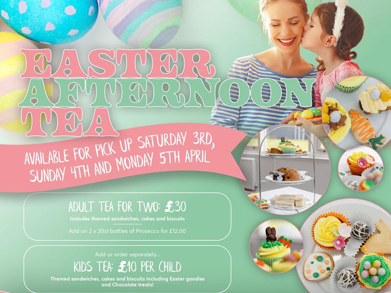 Easter takeaway treat as Alona Hotel offers afternoon tea for two