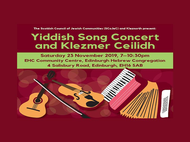Yiddish Song Concert and Klezmer Ceilidh