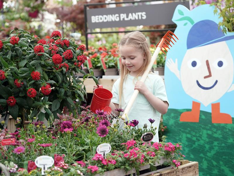 Dobbies stores in Braehead and Milngavie announce the return of Little Seedlings