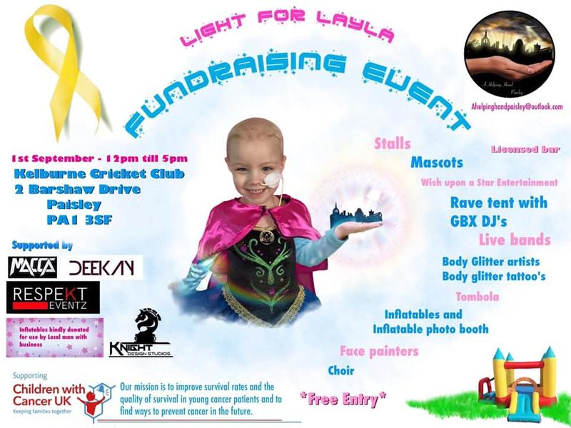Light for Layla Family Fun Day