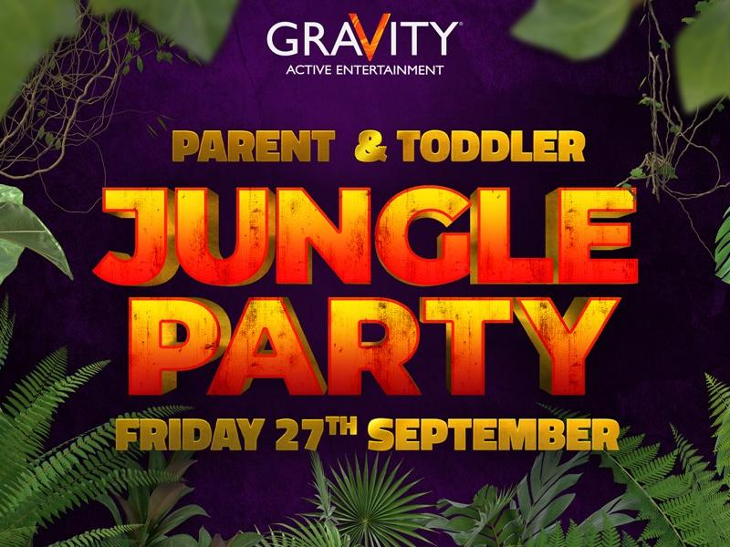 Gravity Parent & Toddler Event: Jungle Party