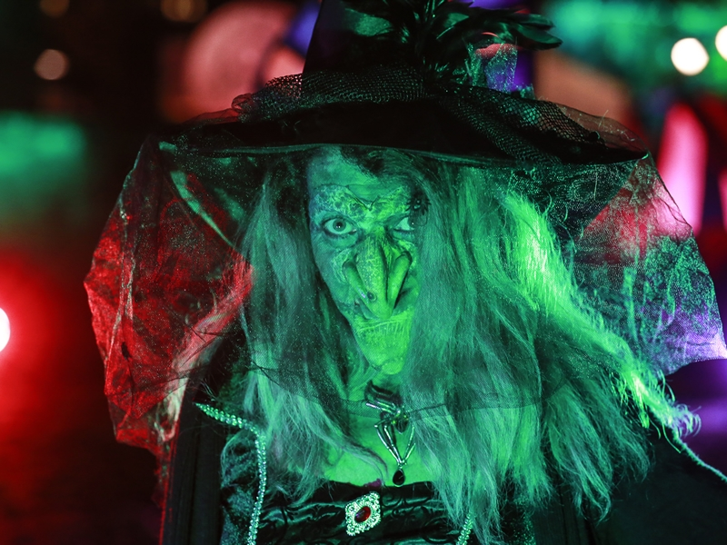 Frightening fun at Paisley Halloween Festival