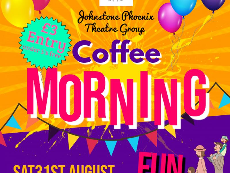 Johnstone Phoenix Theatre Group Fundraising Coffee Morning