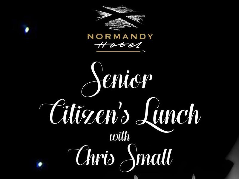 Seniors Lunch with Chris Small