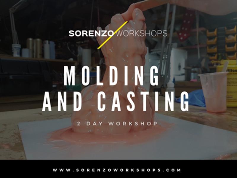 Brush-Up Molding and Casting Workshop - 2 Day Workshop