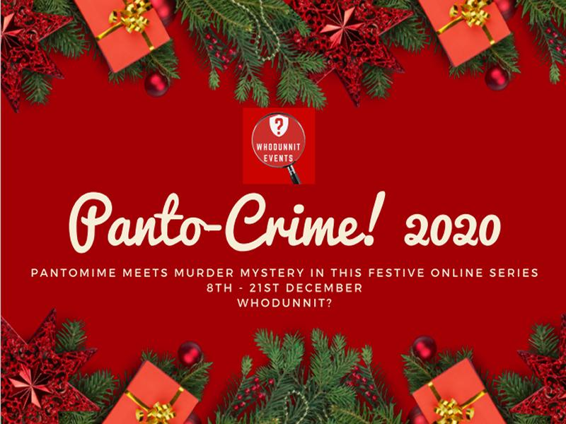 Panto-Crime! A Festive Online Murder Mystery