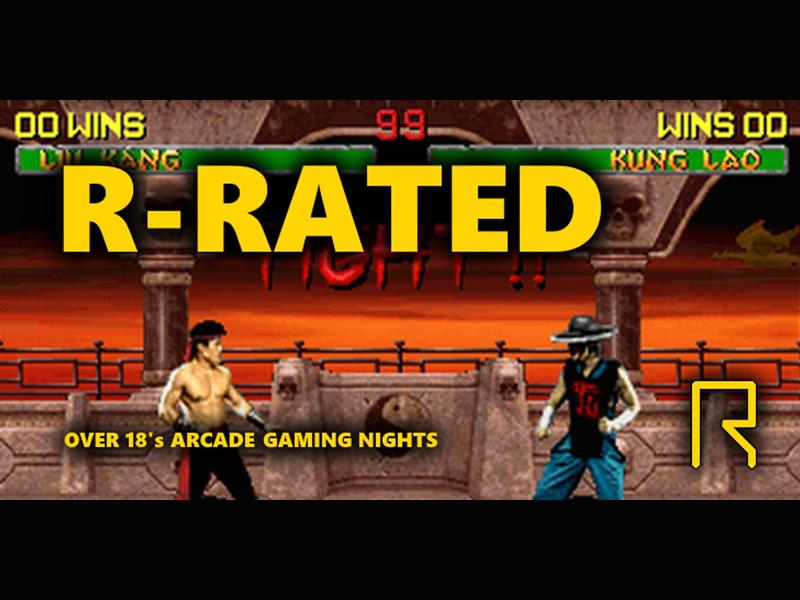 R-Rated Arcade Gaming
