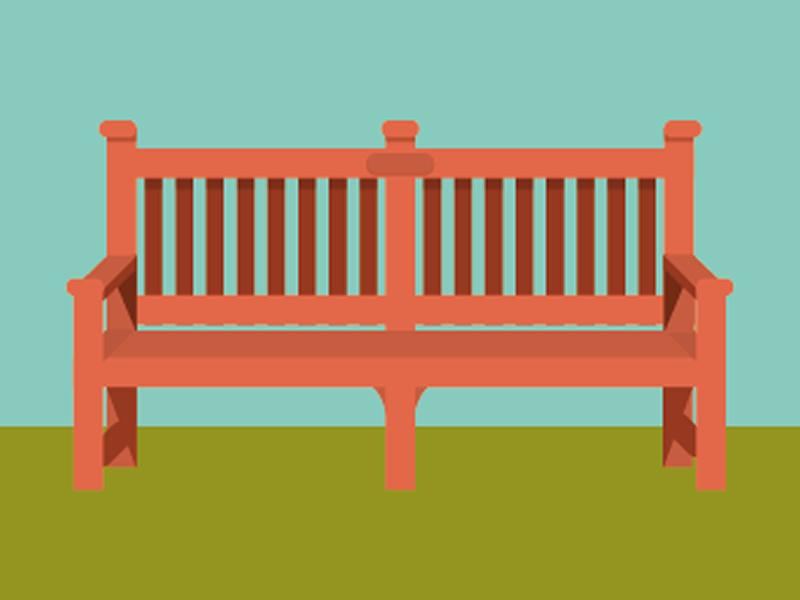 The Bench By K R Mcallister