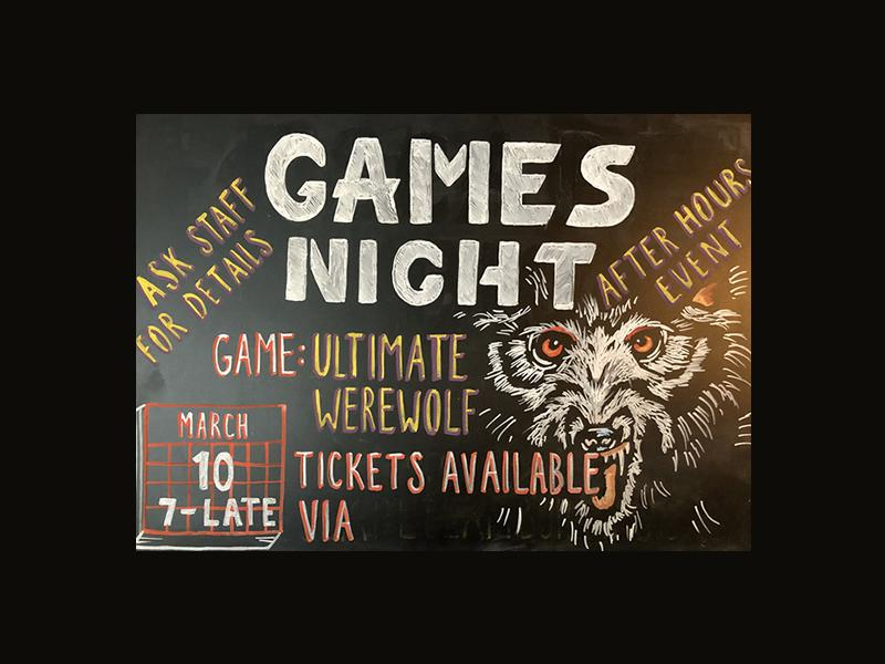 After Hours Games Night: Ultimate Werewolves