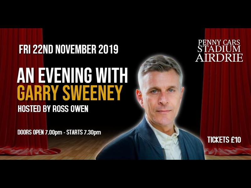 An Evening With River City & Still Game Star GARRY SWEENEY
