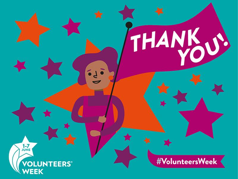 Charity thanks volunteers for the massive difference they make