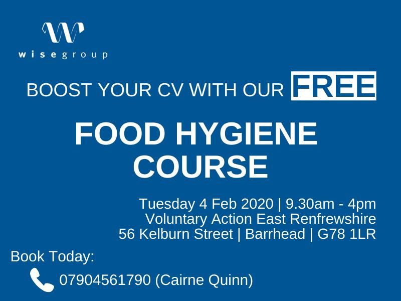 Boost Your Cv With Our Free Food Hygiene Course At Voluntary