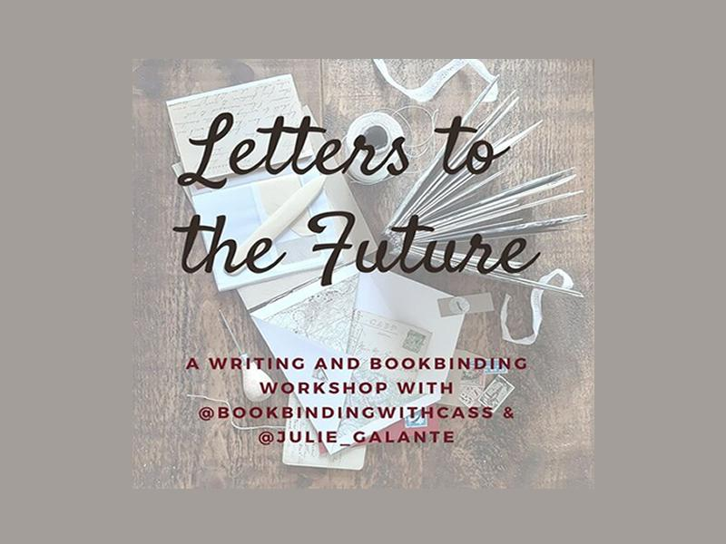 Letters to the Future: a writing and bookbinding workshop