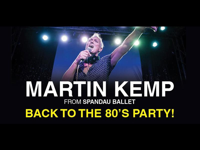Martin Kemp: Back To The 80s