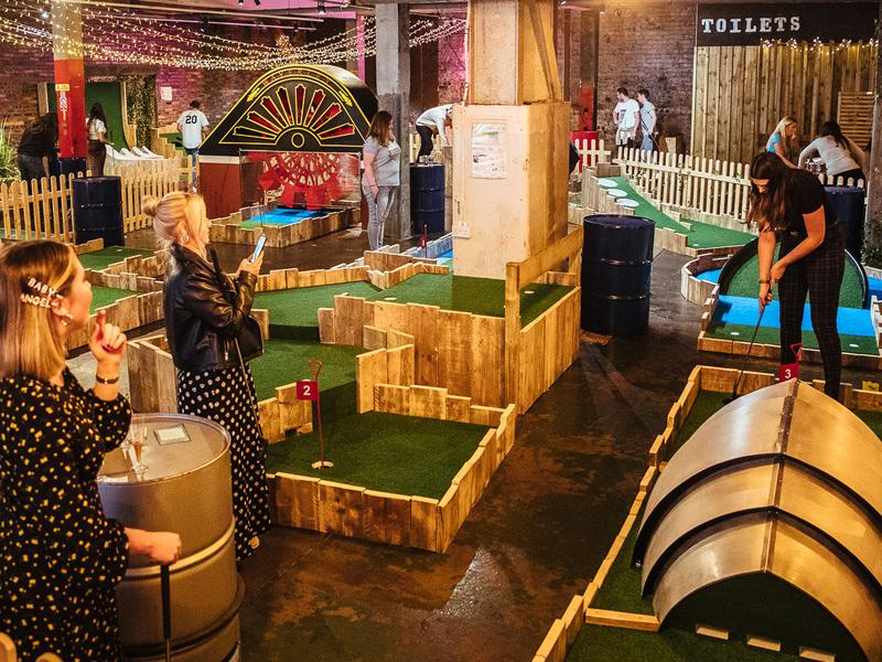 Fore Play Crazy Golf awarded double industry COVID Safe accreditation