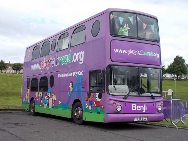 Play Talk Read Roadshow in Renfrewshire