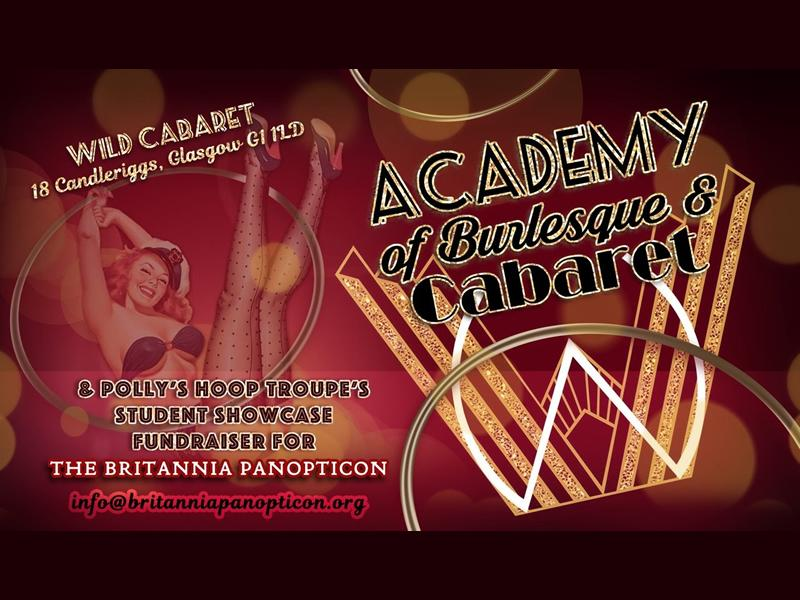 Academy of Burlesque and Cabaret & Polly's Hoop Troupe's Fundraiser