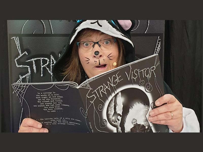 The Strange Visitor: Book Launch