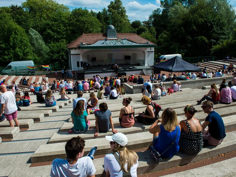 Music at the Bandstand September Weekend
